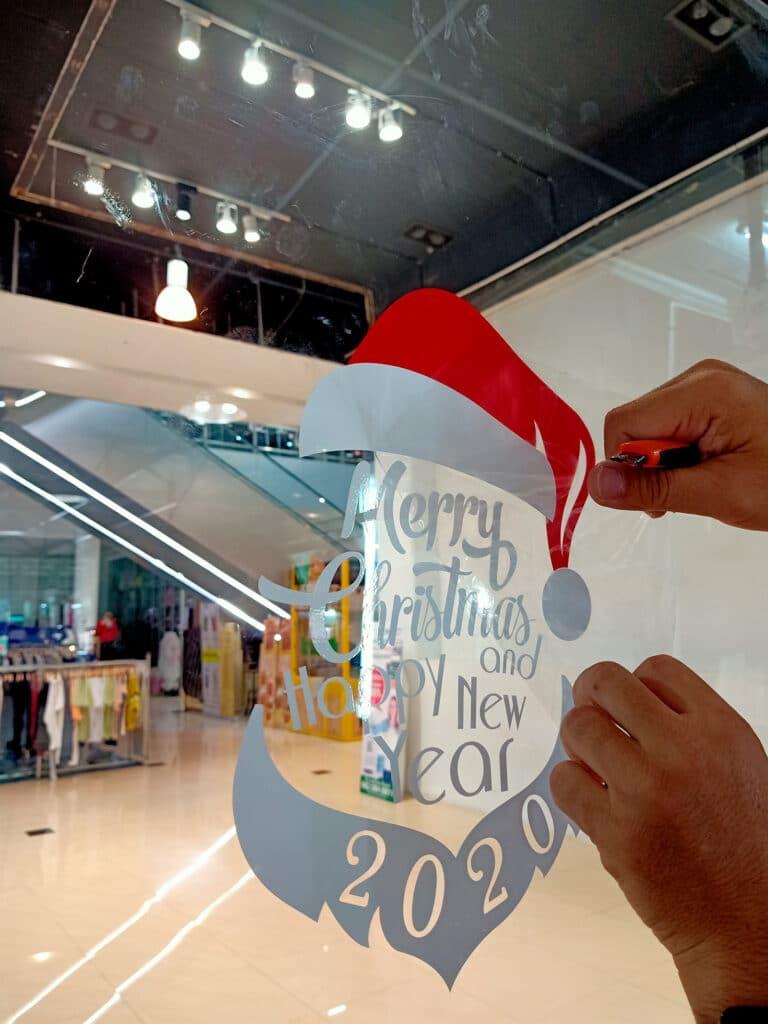decoración navideña para tiendas bucoprint
