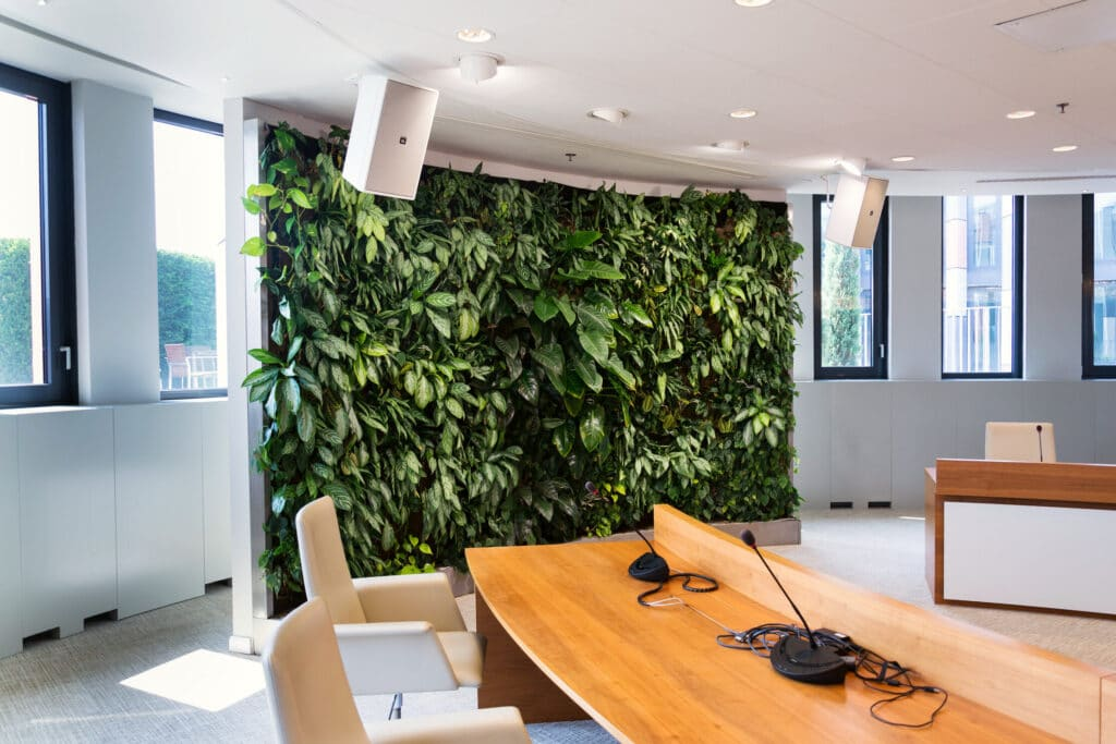 Decoración de oficinas ecológicas